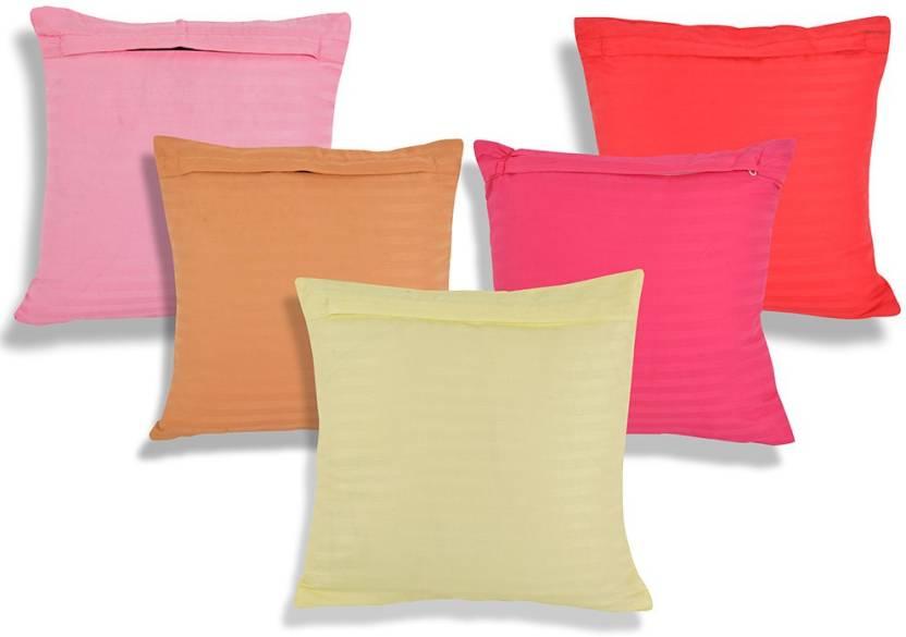 Shree Sai Striped Cushions Cover