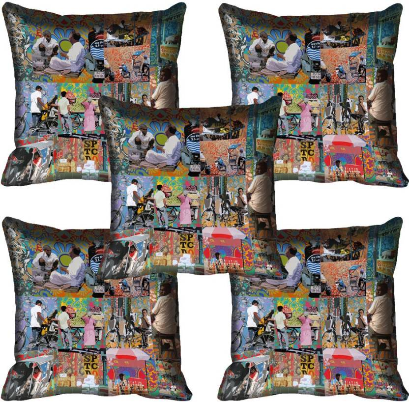 Veracious Retail Abstract Cushions Cover