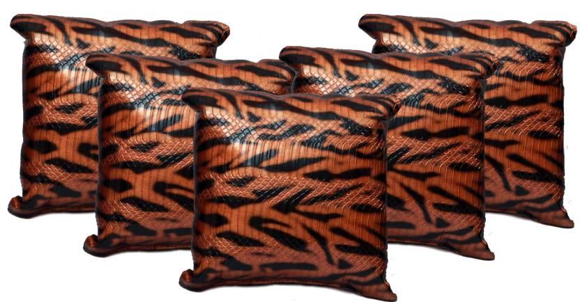 Furnishia Self Design Cushions Cover