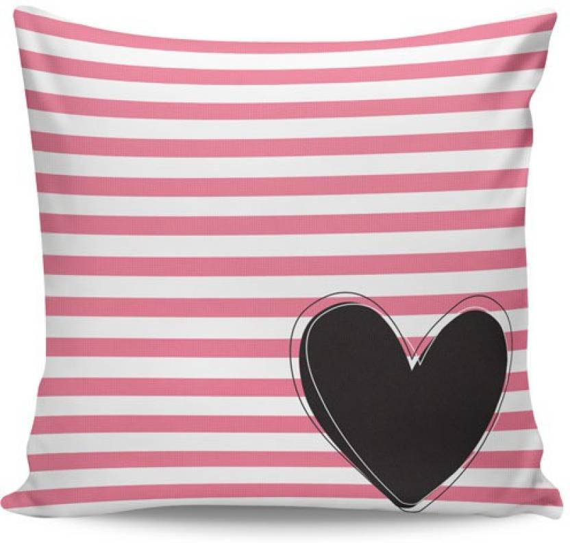 PosterGuy Striped Cushions Cover
