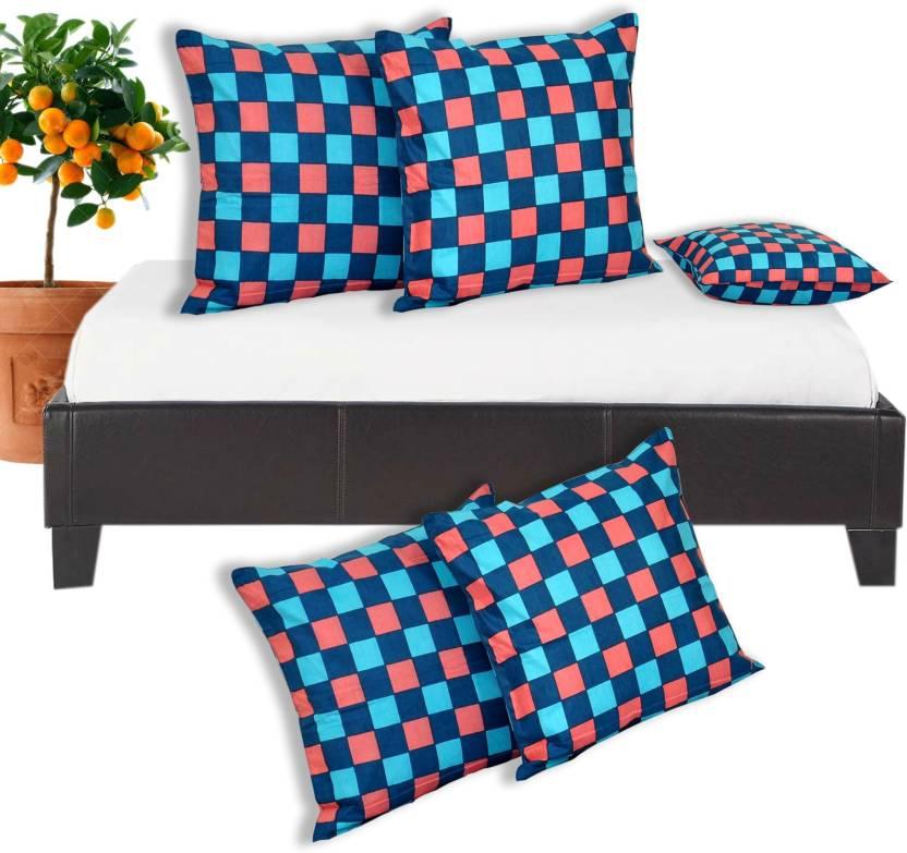 Salona Bichona Checkered Cushions Cover