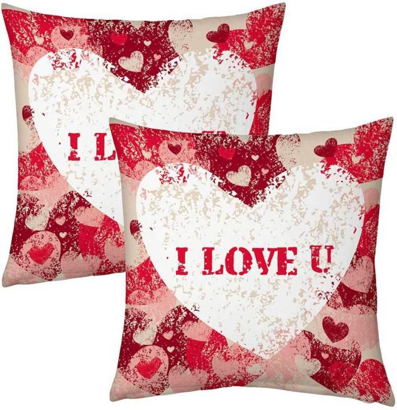 Kiran Udyog Printed Cushions Cover