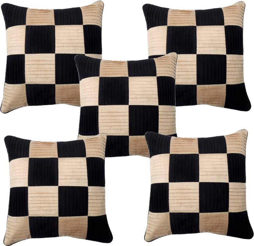 Home Attraction Checkered Cushions Cover