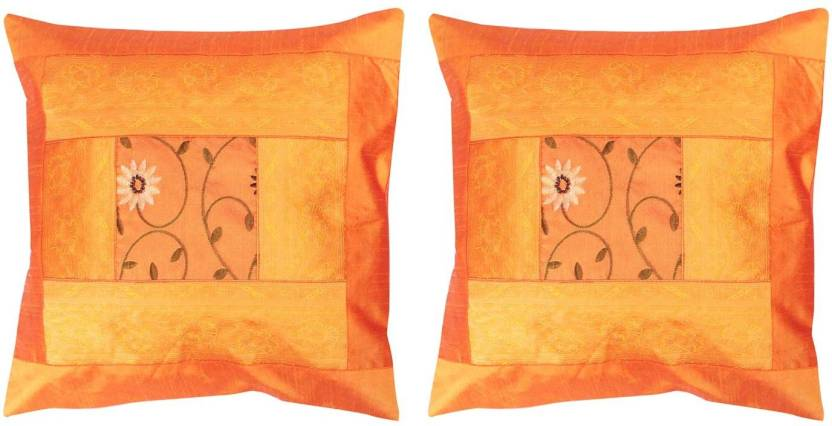 Polkakart Embroidered Cushions Cover
