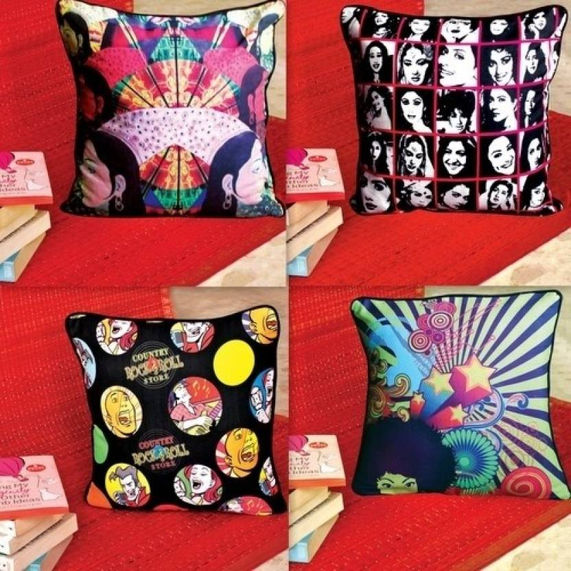 Poppuri Abstract Cushions Cover