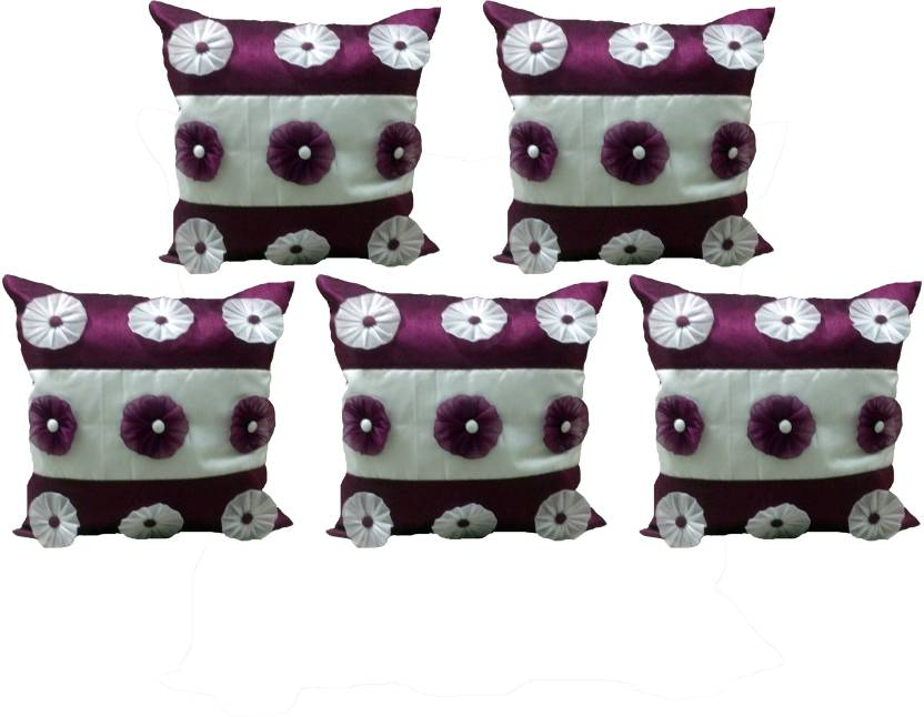 Craft And Curtain Floral Cushions Cover
