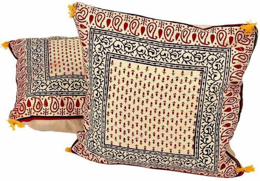 Shree Sai Floral Cushions Cover