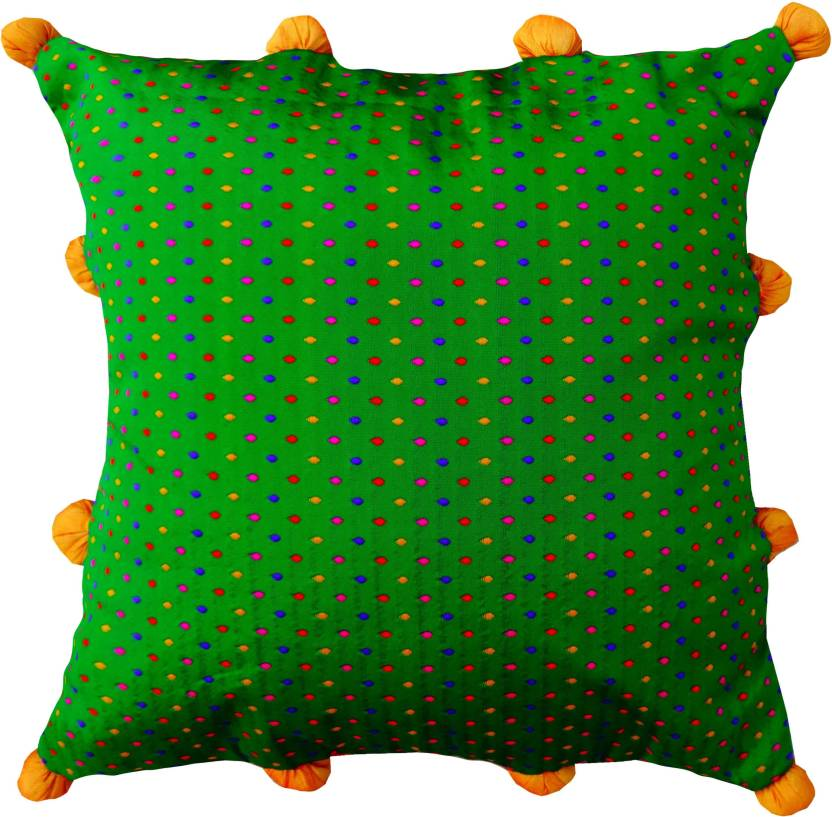 Kairan Jaipur Self Design Cushions Cover