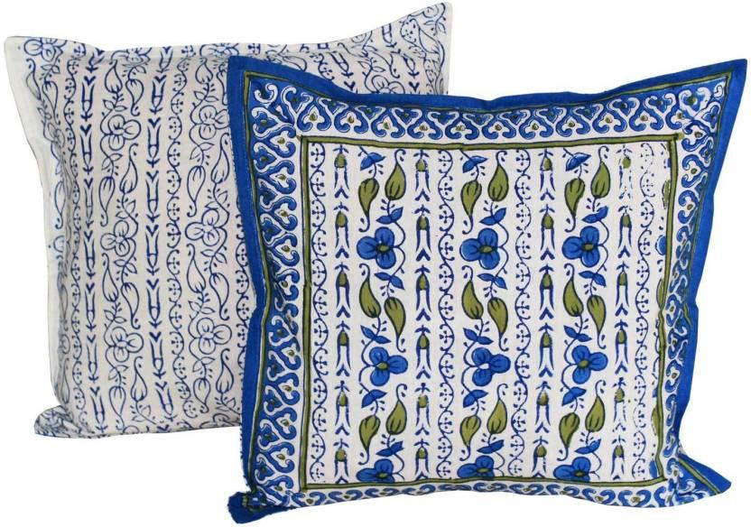 Chhipaprints Floral Cushions Cover