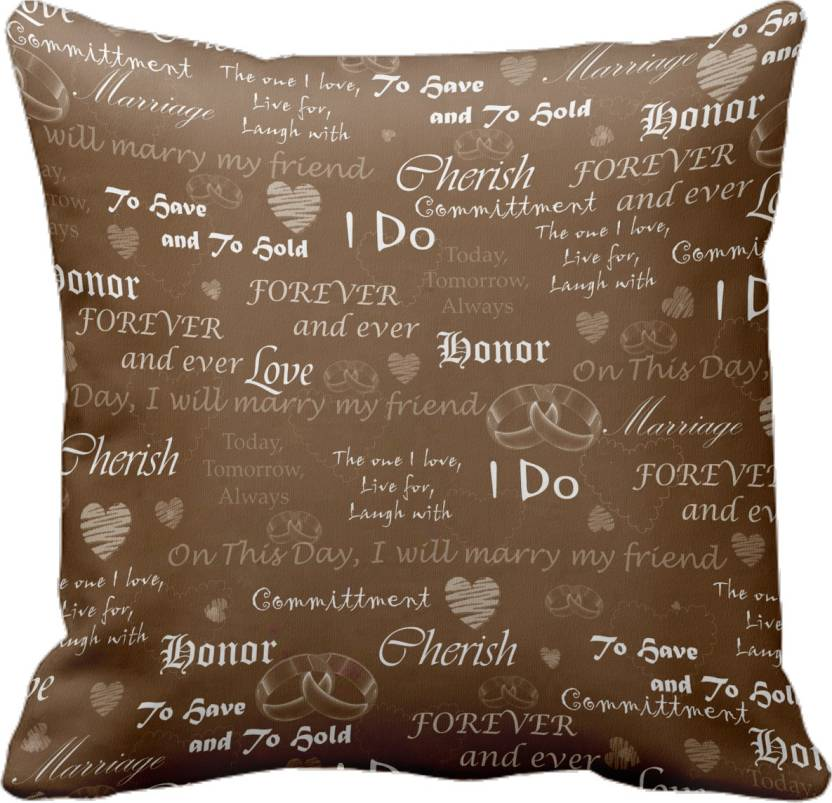 Tiedribbons Printed Cushions Cover