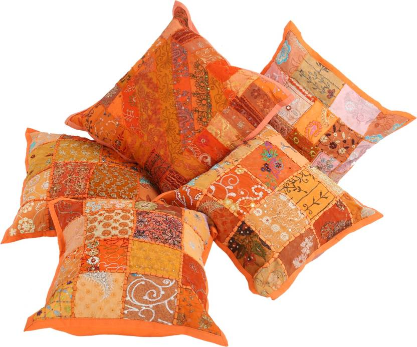Indigenous Handicrafts Self Design Cushions Cover