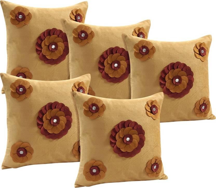 Idrape Embroidered Cushions Cover