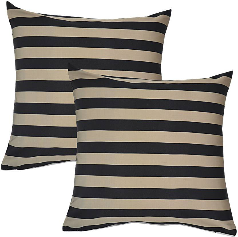 Home Kouture Striped Cushions Cover