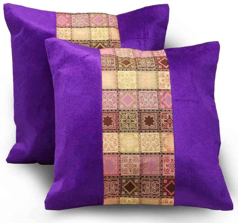 Shree Sai Checkered Cushions Cover
