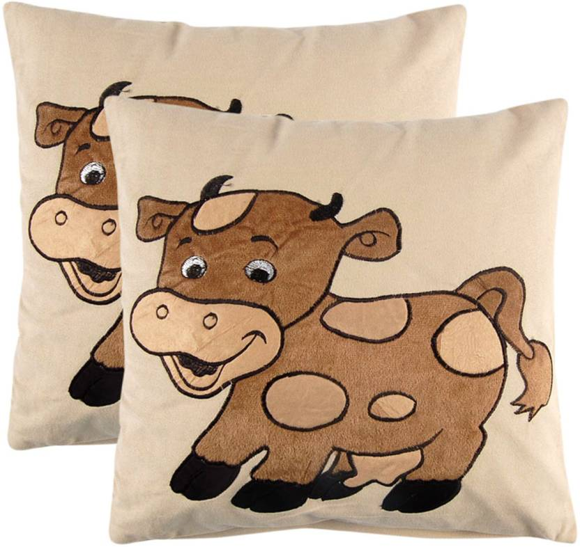 Manpho Embroidered Cushions Cover