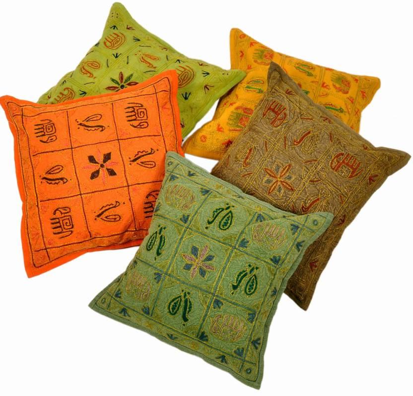Jaipur Raga Abstract Cushions Cover