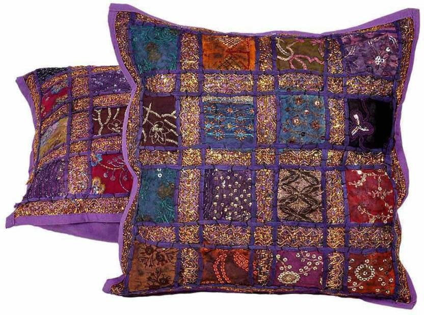 Shree Sai Embroidered Cushions Cover