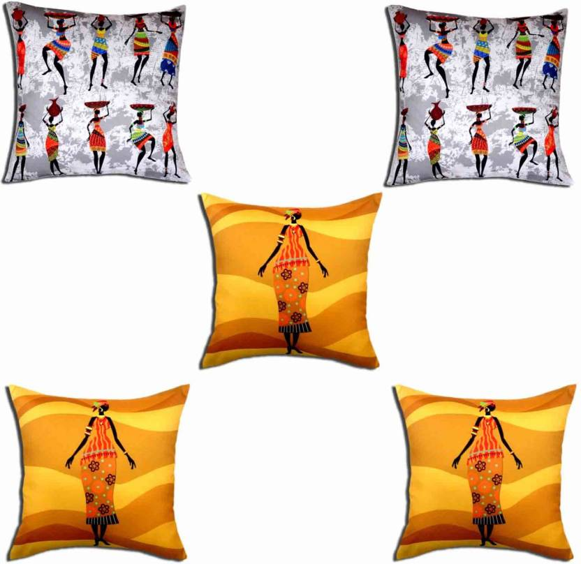 Roopak Abstract Cushions Cover