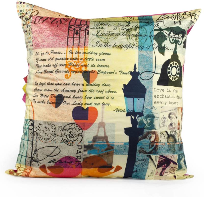 Indian August Abstract Cushions Cover