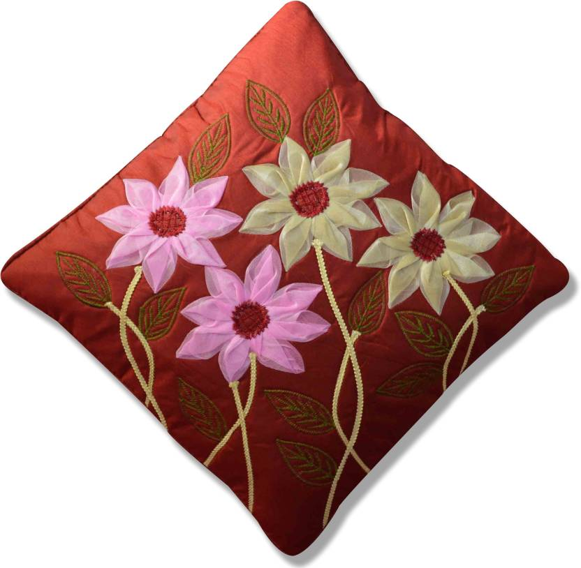 HouseAttire Embroidered Cushions Cover