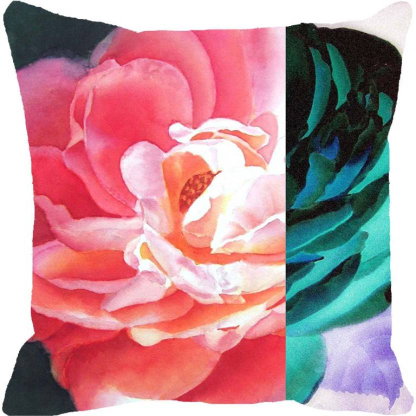 Leaf Designs Printed Cushions Cover