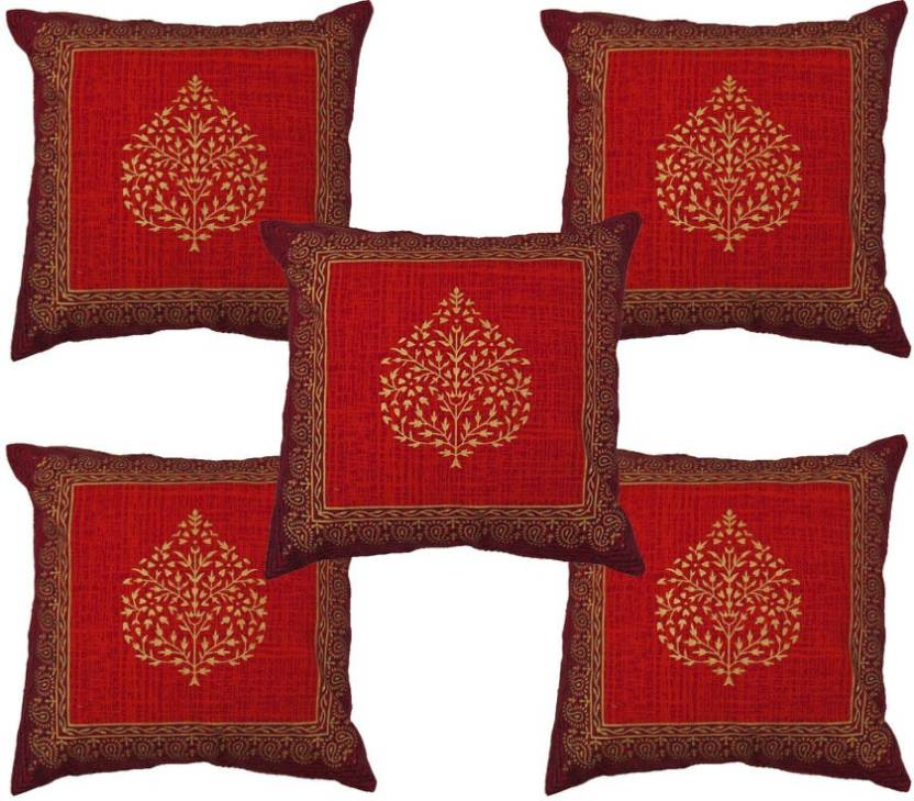 Kalakriti Creations Damask Cushions Cover