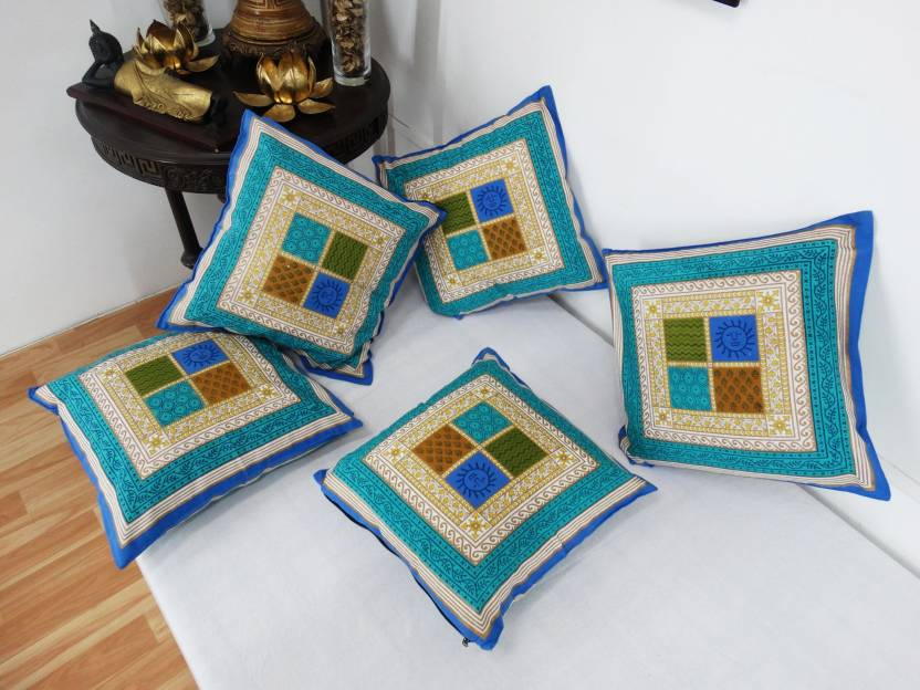 Heritage Fabs Geometric Cushions Cover