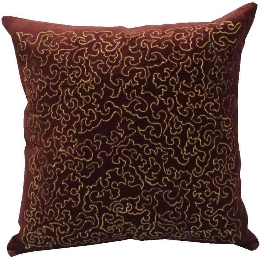 Adishma Self Design Cushions Cover