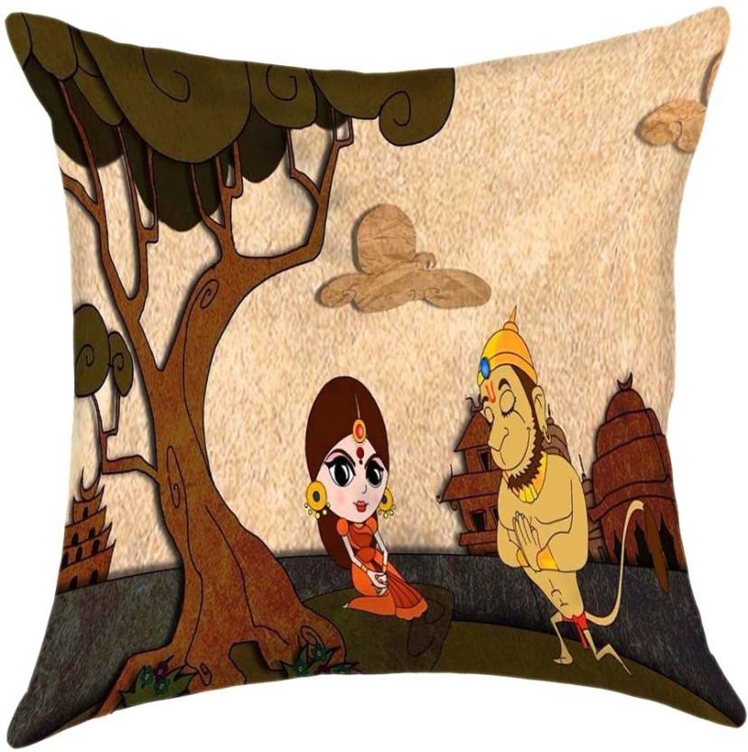 Shopkeeda Printed Cushions Cover