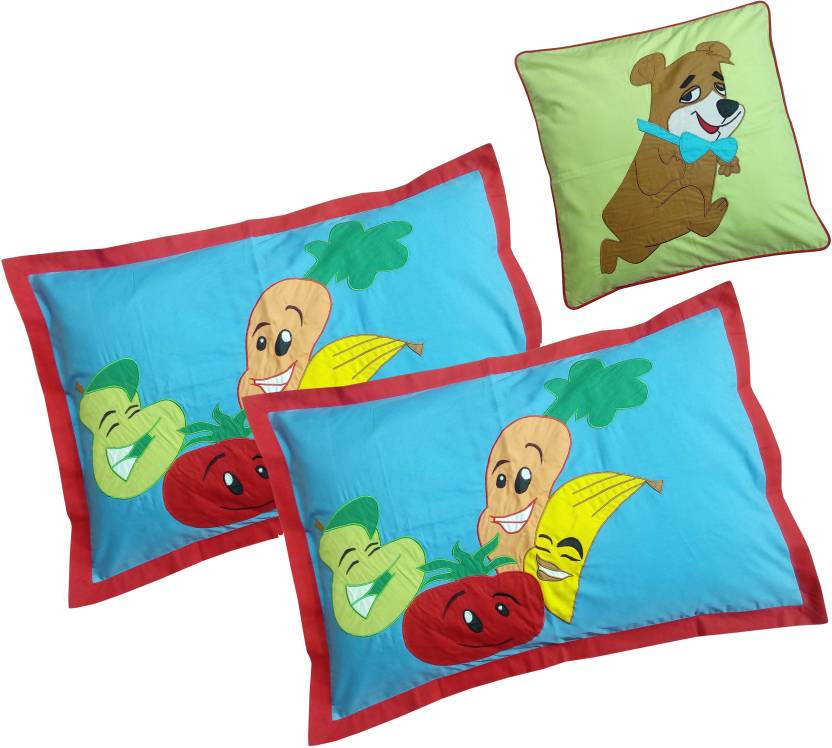 HugsnRugs Embroidered Pillows Cover