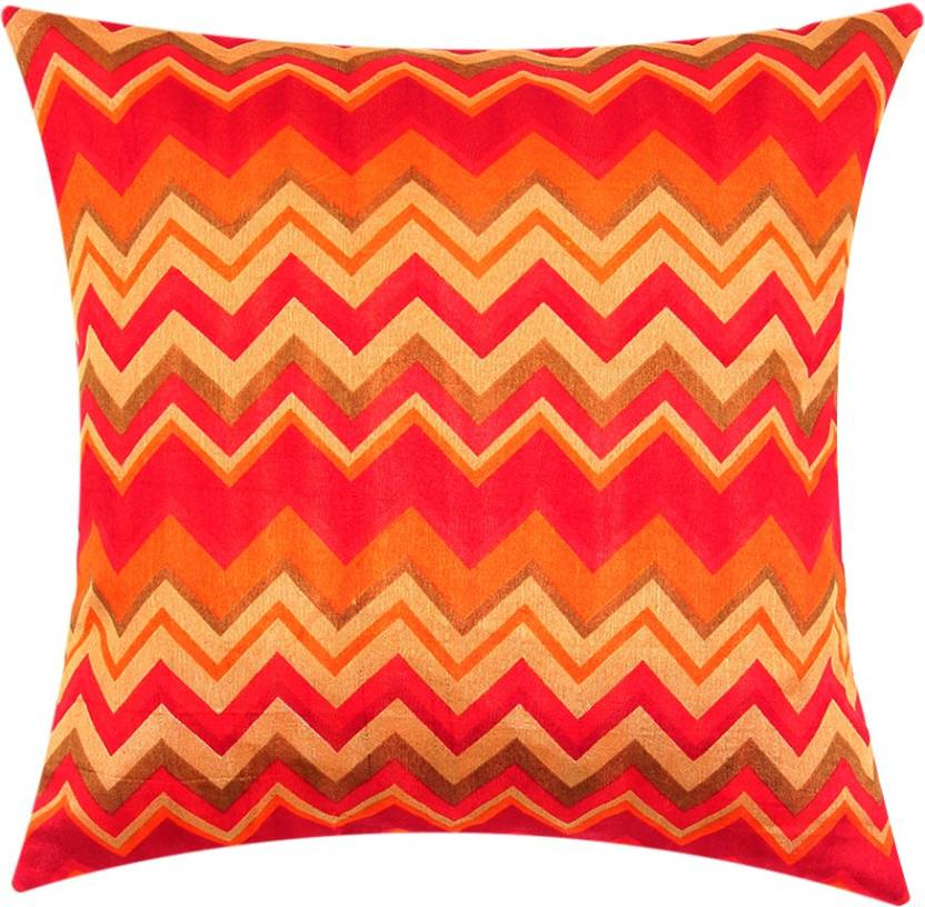 SEJ by Nisha Gupta Geometric Cushions Cover