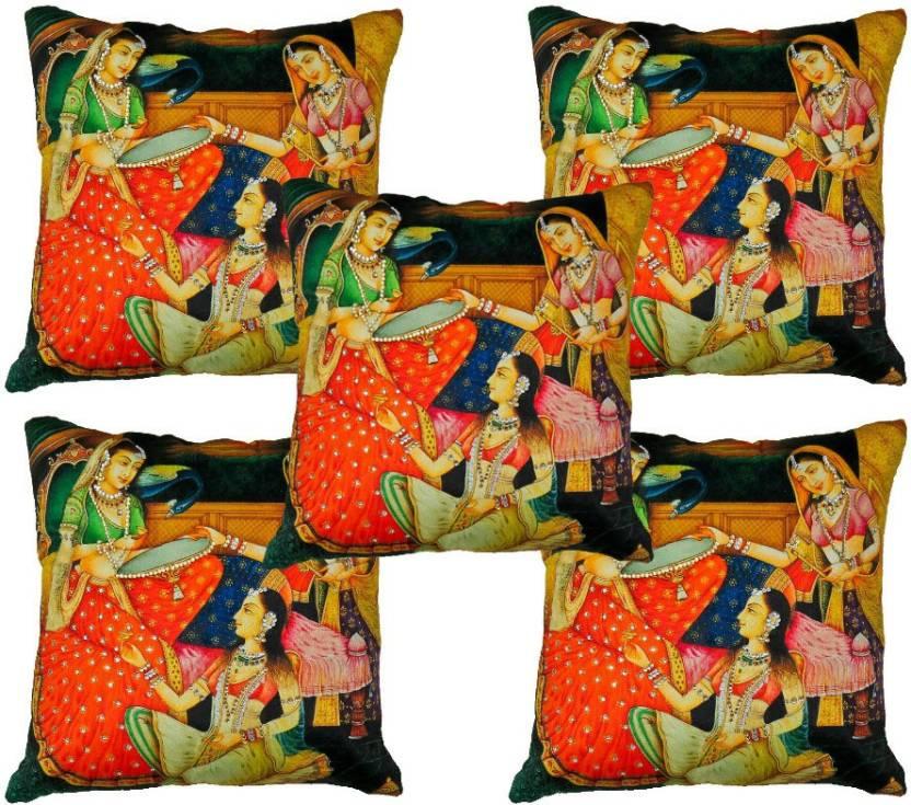 Kalakriti Creations Cartoon Cushions Cover