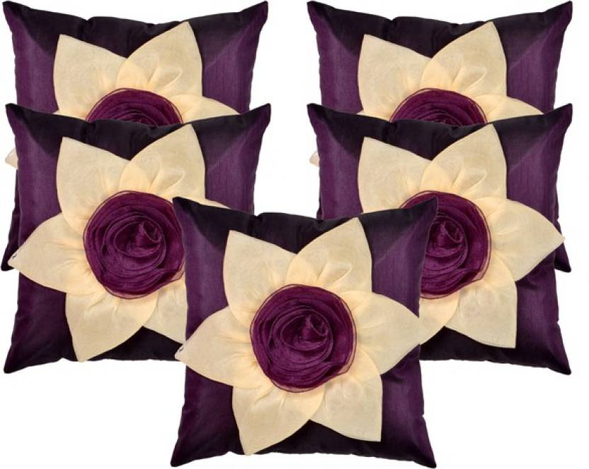 Shine Villa Floral Cushions Cover