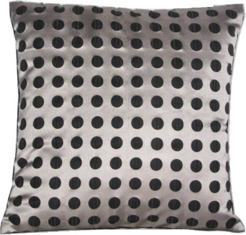 Sayansh Creations 1 Polka Cushions Cover