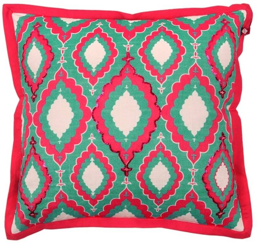 India Circus By Krsna Mehta Abstract Cushions Cover