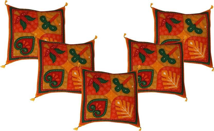 Ayushi Craft & Fashions Abstract Cushions Cover