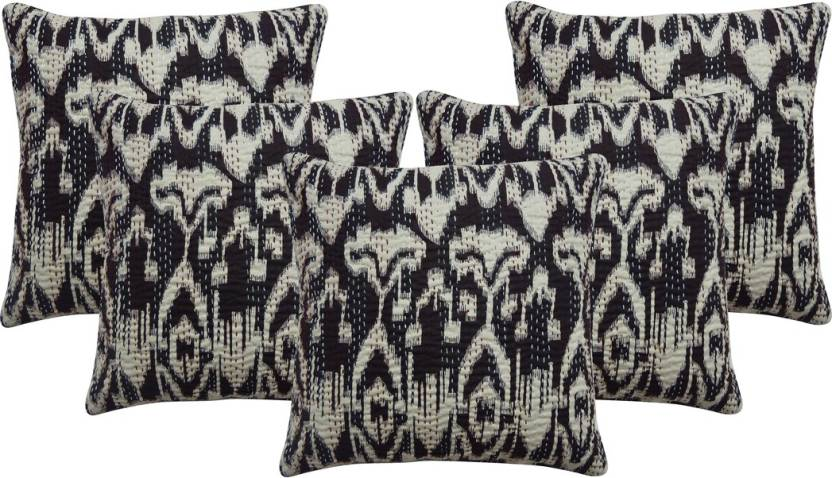 Rajcrafts Abstract Cushions Cover