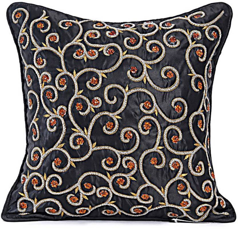 Rutbaa Embroidered Cushions Cover