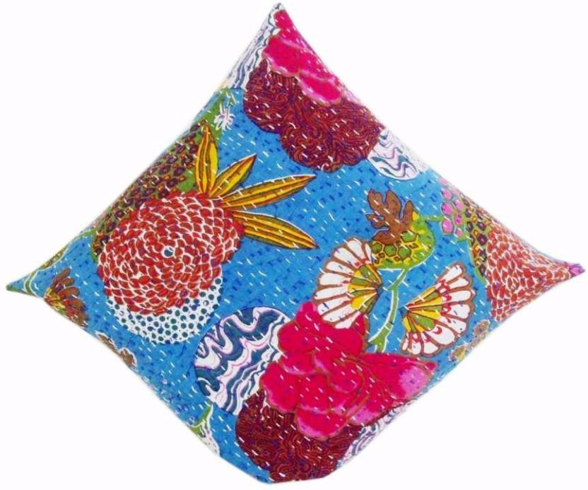 Lucky Handicraft Floral Cushions Cover