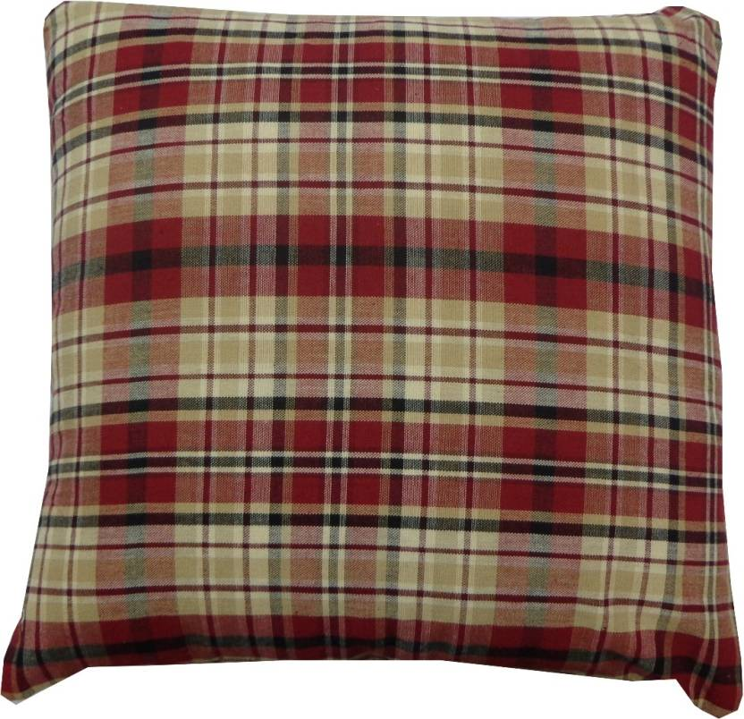 Adt Saral Checkered Cushions Cover