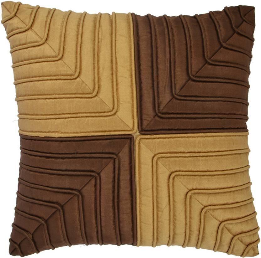 Khuranas Geometric Cushions Cover