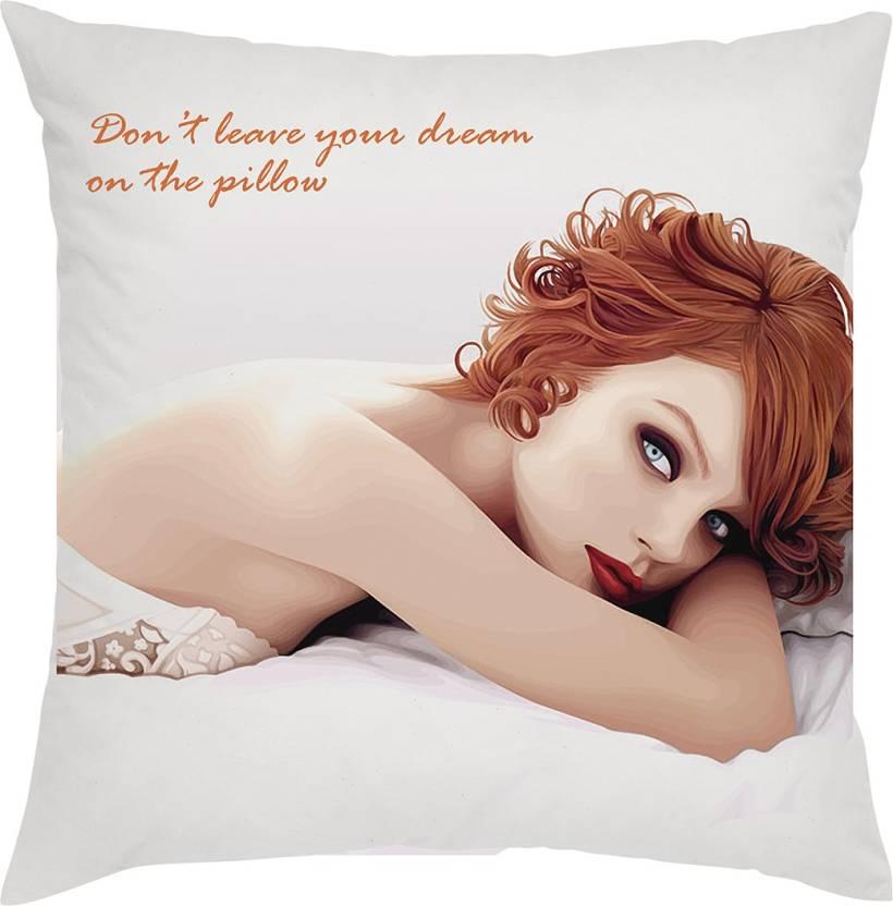 Love Bite Cartoon Cushions Cover