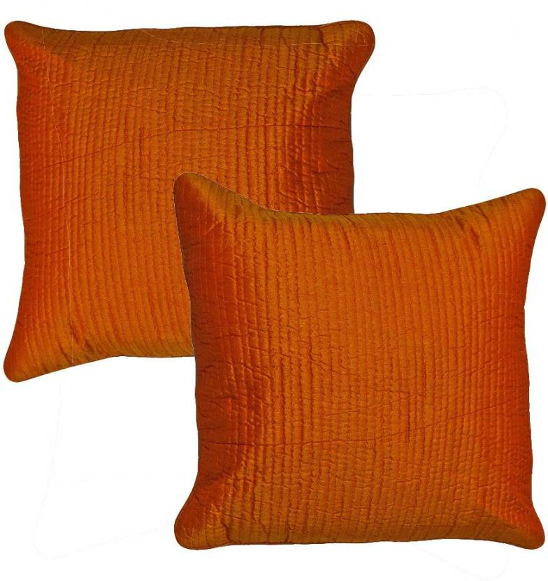 Kalakriti Creations Striped Cushions Cover