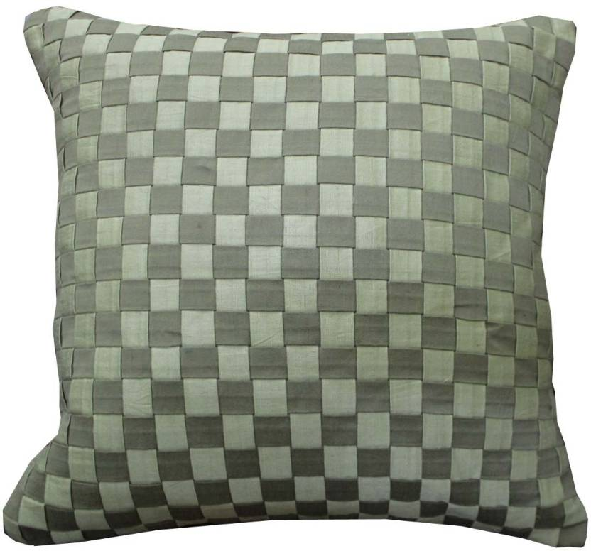 Adishma Checkered Cushions Cover