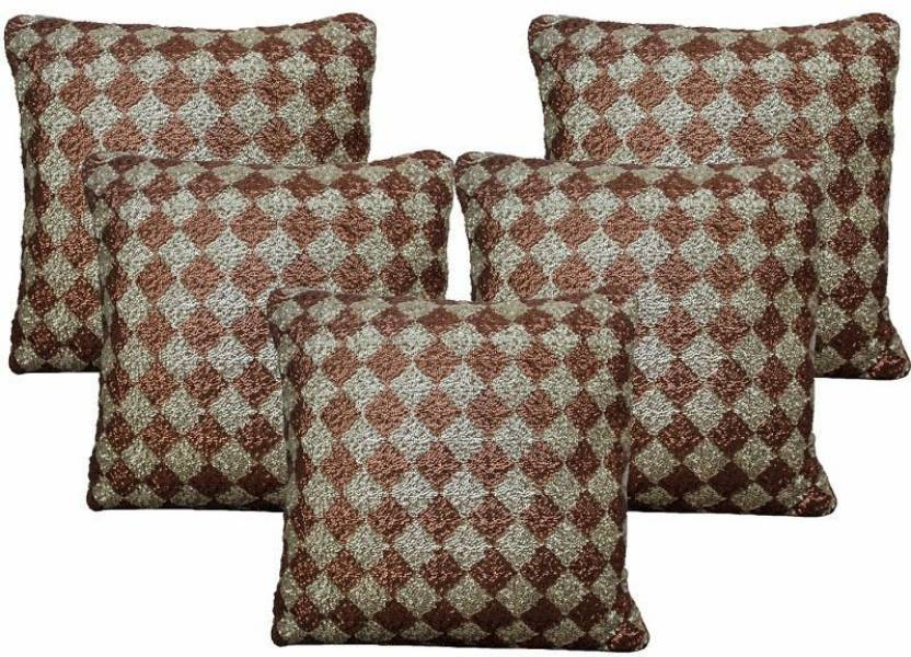 Bagrastore Checkered Cushions Cover