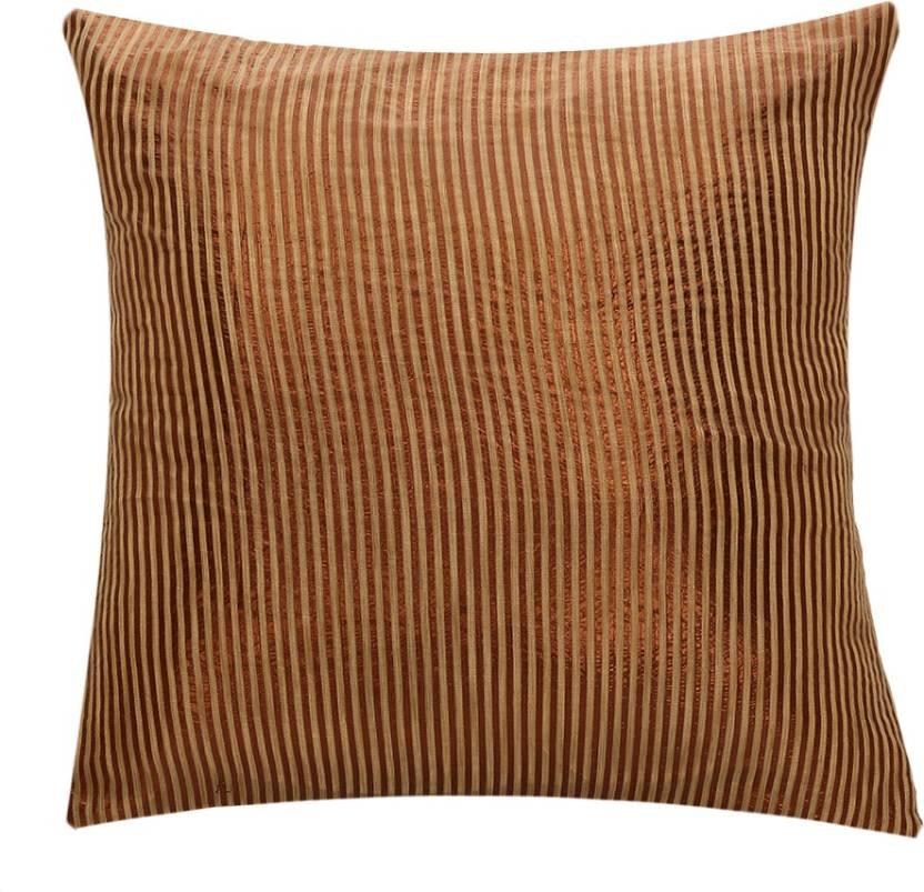 SEJ by Nisha Gupta Striped Cushions Cover
