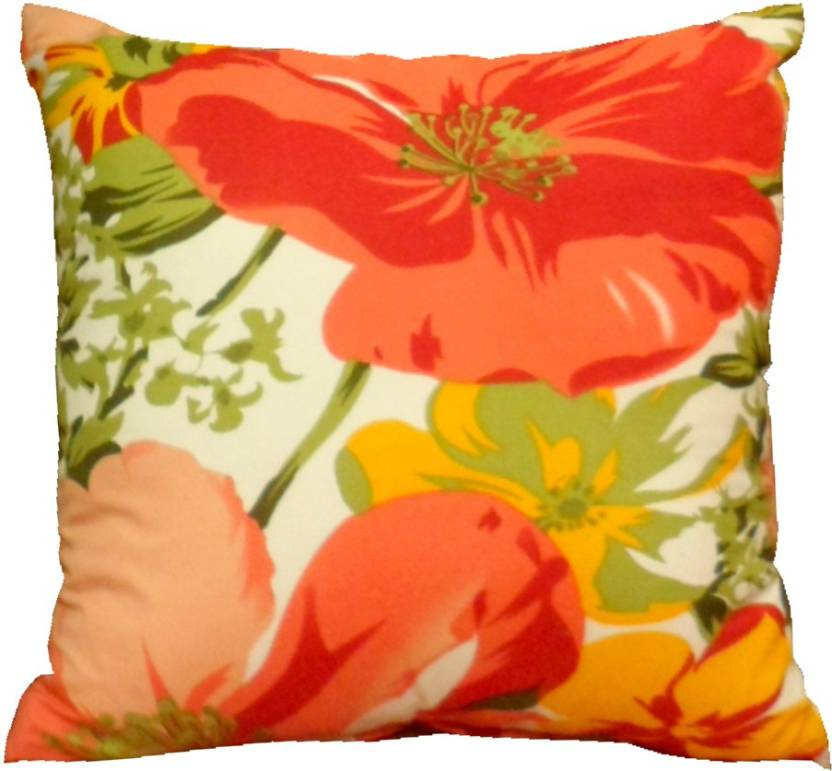 Aalidhra Techtex Floral Cushions Cover