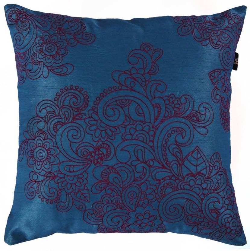 The Home Elements Embroidered Cushions Cover