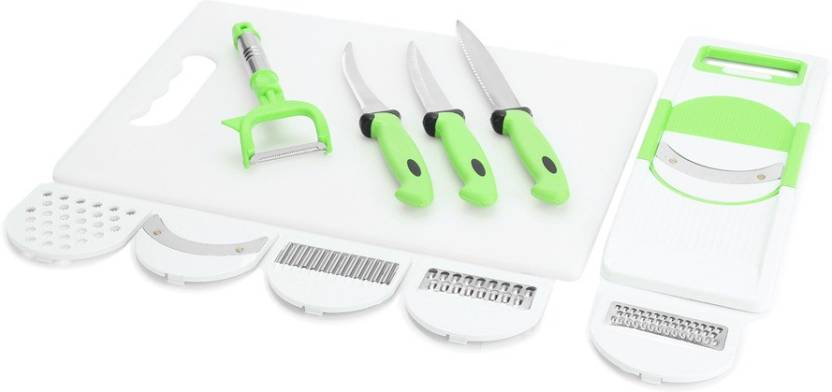 Amiraj FK CB GREEN Combi - 3 White, Green Kitchen Tool Set
