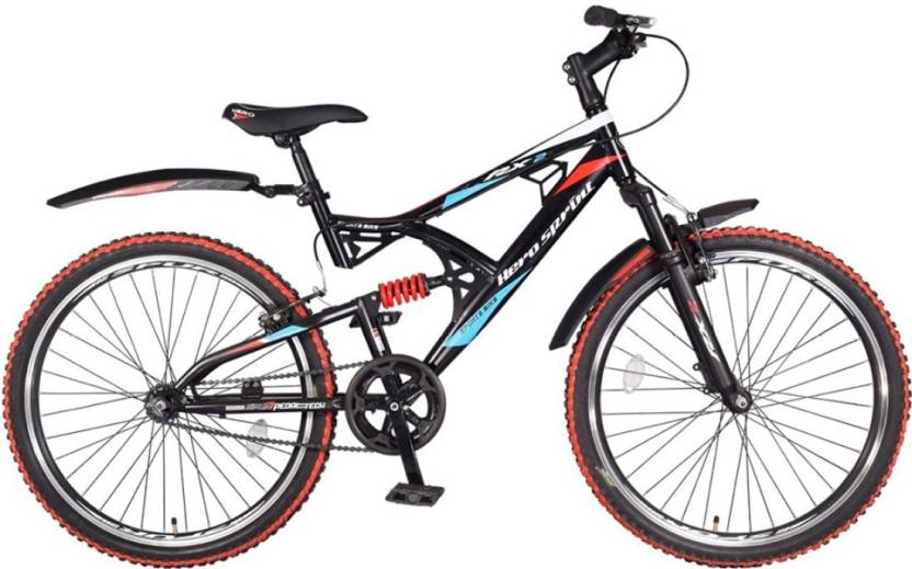 63018a923ac Hero RX2 26T SS Sprint without Disc Brake 26 T Mountain Cycle (Single  Speed